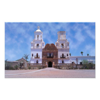 San Xavier del Bac Mission - Tucson, AZ Photo Art