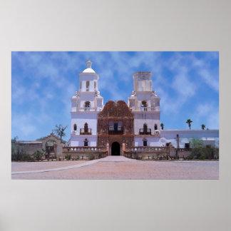 San Xavier del Bac Mission - Tucson, AZ Poster