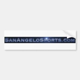 sanangelosports car bumper sticker