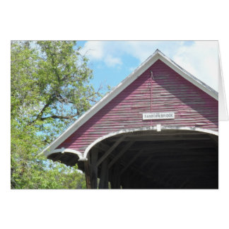 Sanborn Covered Bridge- Vermont Greeting Cards