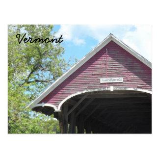 Sanborn Covered Bridge- Vermont Postcard