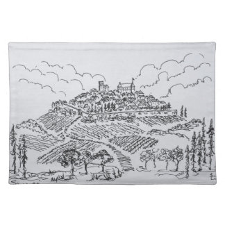 Sancerre Vineyards | Loire Valley, France Placemat
