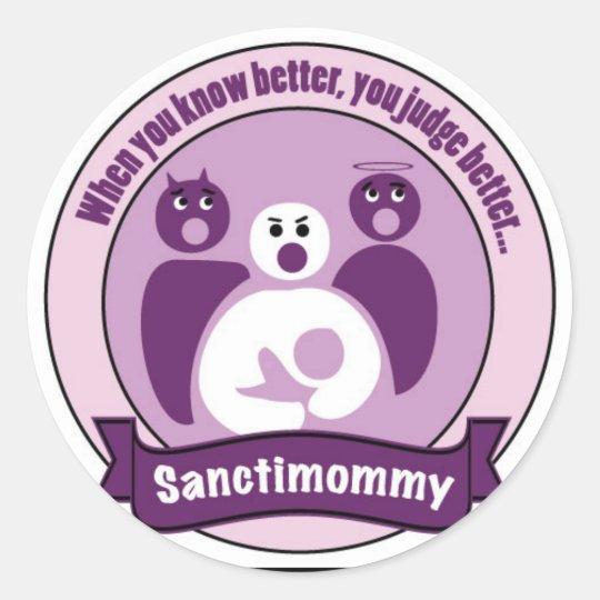 Sanctimommy Sticker