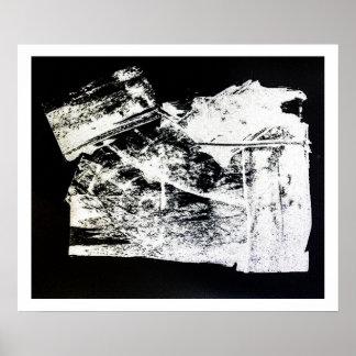 """Sanctum"" Limited Edition Black/White Print"