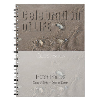 Sand 1 Celebration Of Life Memorial Guest Book