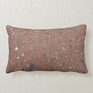 Sand and pebbles double sided lumbar cushion