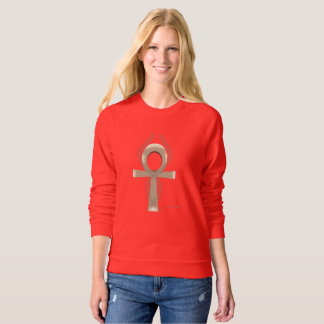 Sand Ankh Ladies Raglan Sweatshirt