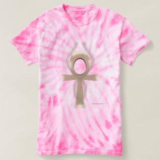 Sand Ankh Ladies Tie-Dye T-Shirt