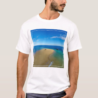 Sand Bar And Dhow | Ibo Island, Mozambique T-Shirt