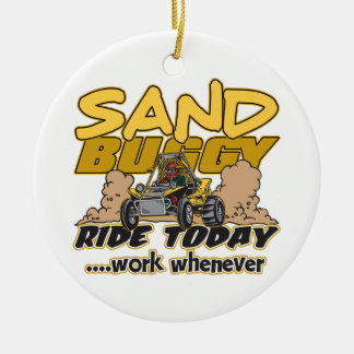 Sand Buggy Ride Today Christmas Ornament
