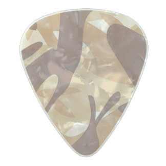 Sand Camouflage Pearl Celluloid Guitar Pick