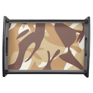 Sand Camouflage Serving Tray