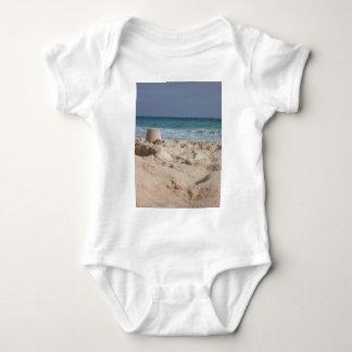 sand castle baby bodysuit
