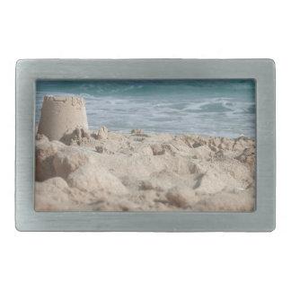 sand castle belt buckles