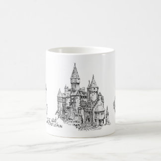 Sand Castle Fun Coffee Mug