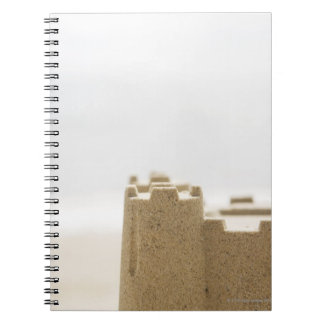 Sand castle note book