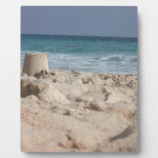 sand castle plaque