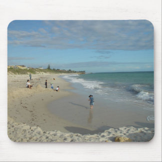 Sand Castle (Well, Heap) At Wanneroo Beach Facing Mousepad