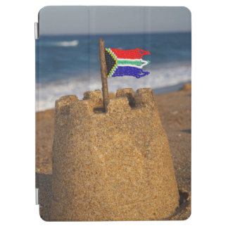 Sand Castle With South African Flag, Umhlanga iPad Air Cover