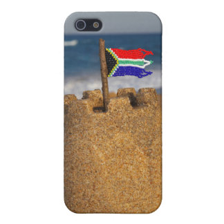 Sand Castle With South African Flag, Umhlanga iPhone 5 Covers
