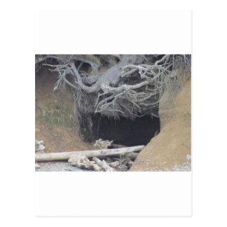 Sand Cave at the Beach Postcard