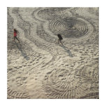 Sand Circle Canvas #3 Gallery Wrapped Canvas