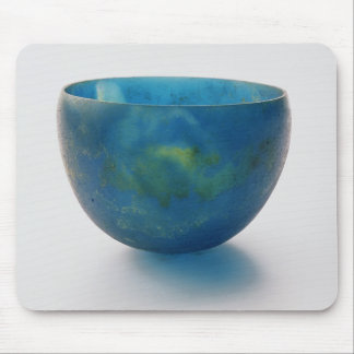 Sand-core glass bowl found in the Bernardini tomb Mouse Mat