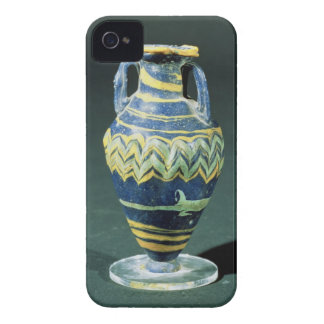 Sand-core glass unguent flask (amphoriskos) from P iPhone 4 Case-Mate Case