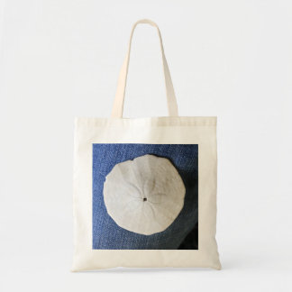 sand dollar beach seaside tote bag