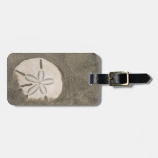 Sand dollar (Echinarachnius parma) Luggage Tag