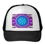 sand dollar - fractal art hat