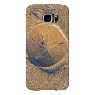 Sand Dollar Revealed On Beach | Hilton Head Island Samsung Galaxy S6 Cases