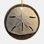 Sand Dollar Seashell Beach Ornament Pendant