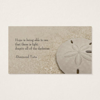 Sand Dollar Standard Business Card
