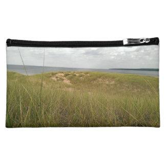 Sand dune cosmetic bag