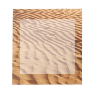 Sand Duner Notepad