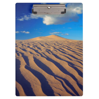 Sand Dunes and Clouds Clipboard