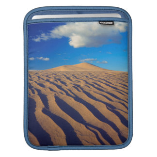 Sand Dunes and Clouds iPad Sleeve