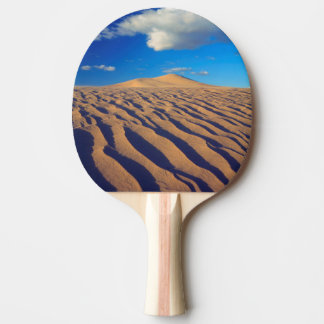 Sand Dunes and Clouds Ping Pong Paddle