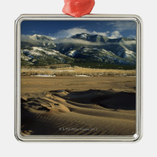 Sand dunes at Great Sand Dunes National Christmas Ornament
