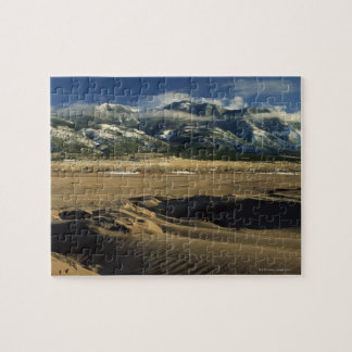 Sand dunes at Great Sand Dunes National Jigsaw Puzzle