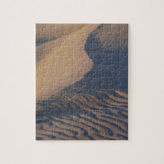 Sand dunes at Mesquite Flats Jigsaw Puzzle