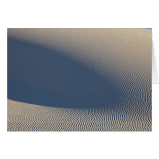 Sand dunes at White Sands National Monument in 4 Card