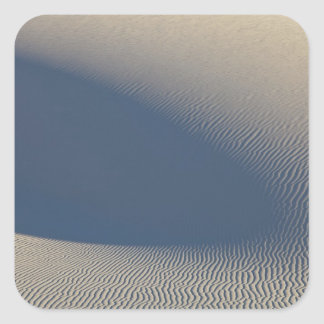 Sand dunes at White Sands National Monument in 4 Square Sticker