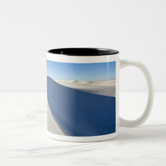 Sand dunes at White Sands National Monument in Two-Tone Coffee Mug