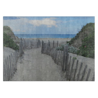 Sand Dunes Block Island Cutting Board