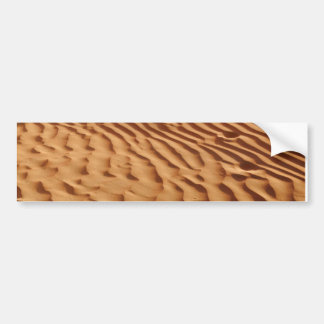 Sand Dunes Bumper Sticker Car Bumper Sticker