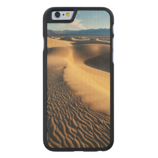 Sand dunes in Death Valley, CA Carved® Maple iPhone 6 Case