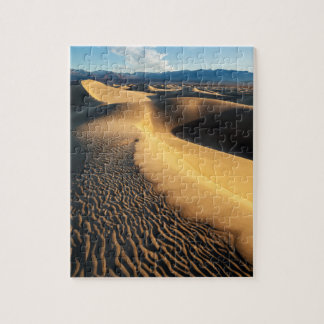Sand dunes in Death Valley, CA Jigsaw Puzzle