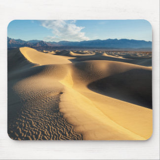 Sand dunes in Death Valley, CA Mouse Mat